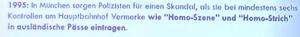 Skandal 1995 in München Homo-Szene